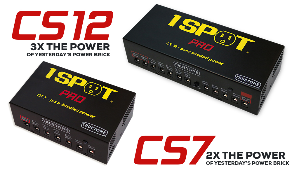 1 SPOT Pro CS12 and CS7